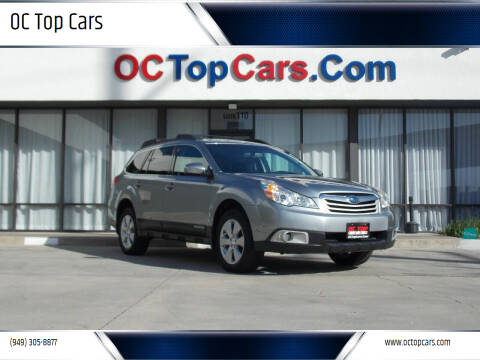2011 Subaru Outback for sale at OC Top Cars in Irvine CA