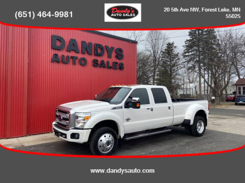 2016 Ford F-450 Super Duty for sale at Dandy's Auto Sales in Forest Lake MN