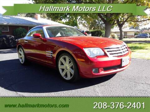 2004 Chrysler Crossfire for sale at HALLMARK MOTORS LLC in Boise ID