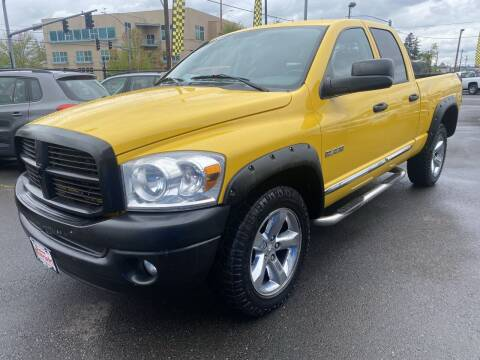 2008 Dodge Ram Pickup 1500 for sale at Salem Motorsports in Salem OR