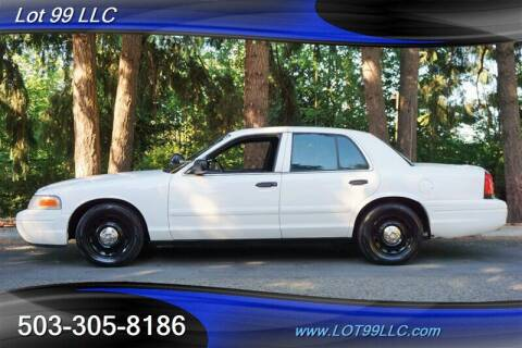2005 Ford Crown Victoria for sale at LOT 99 LLC in Milwaukie OR