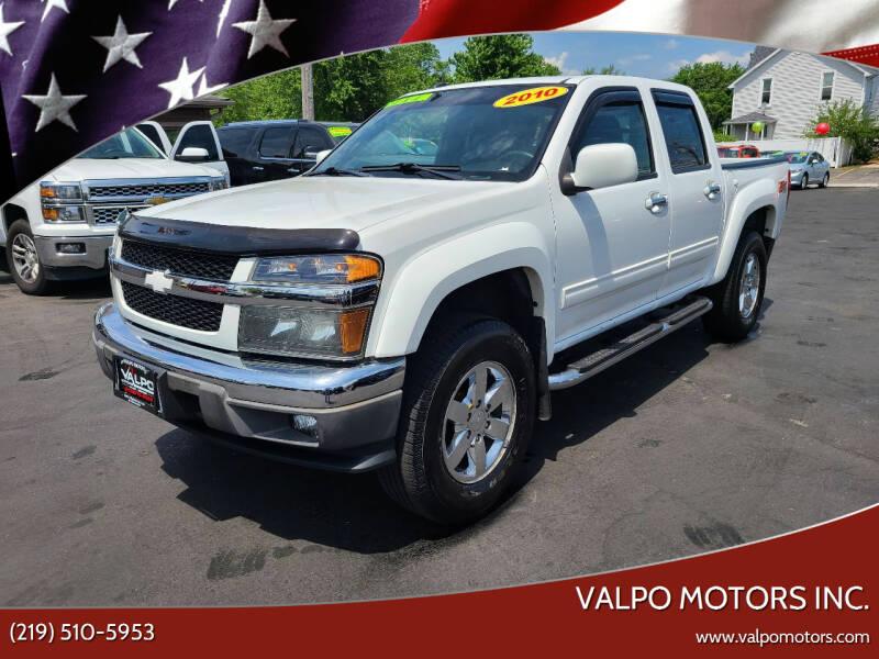 2010 Chevrolet Colorado for sale at Valpo Motors Inc. in Valparaiso IN