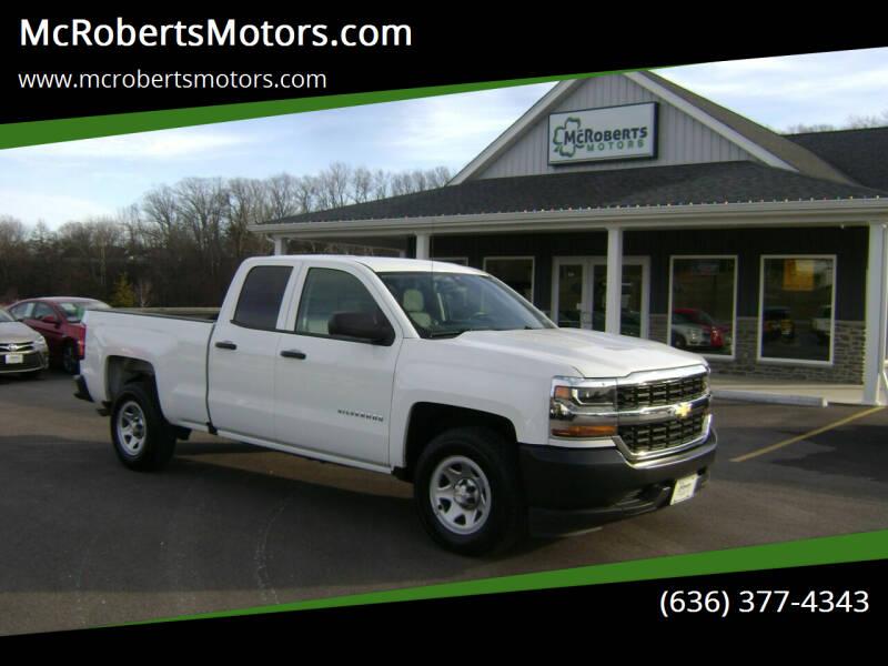 2018 Chevrolet Silverado 1500 for sale at McRobertsMotors.com in Warrenton MO