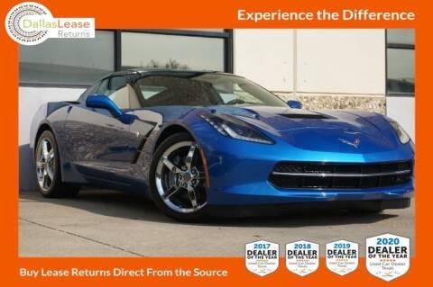 2014 Chevrolet Corvette for sale at Dallas Auto Finance in Dallas TX