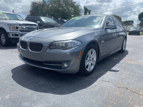 2013 BMW 5 Series for sale at Bargain Auto Sales in West Palm Beach FL