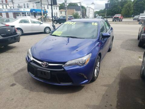 2016 Toyota Camry for sale at TC Auto Repair and Sales Inc in Abington MA