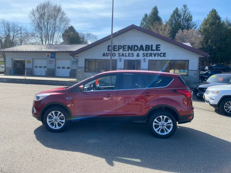 2019 Ford Escape for sale at Dependable Auto Sales and Service in Binghamton NY