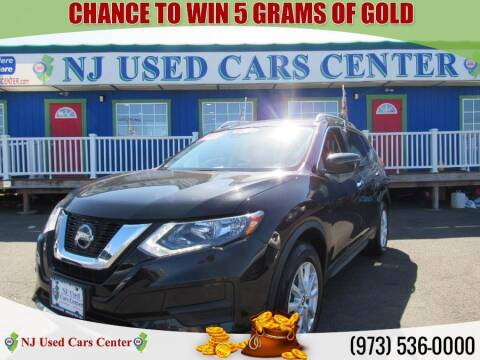 2020 Nissan Rogue for sale at New Jersey Used Cars Center in Irvington NJ