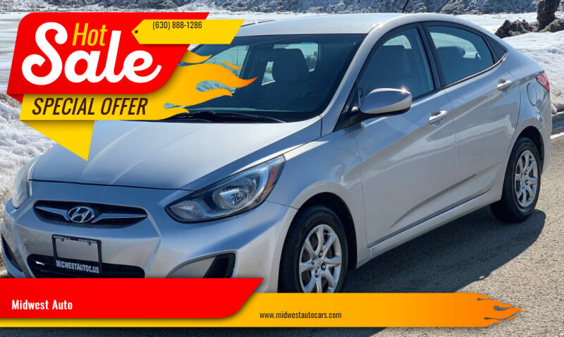 2013 Hyundai Accent for sale at Midwest Auto in Naperville IL