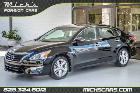2013 Nissan Altima for sale at Mich's Foreign Cars in Hickory NC