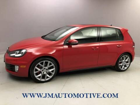 2013 Volkswagen GTI for sale at J & M Automotive in Naugatuck CT