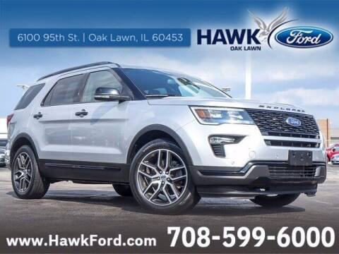 2019 Ford Explorer for sale at Hawk Ford of Oak Lawn in Oak Lawn IL