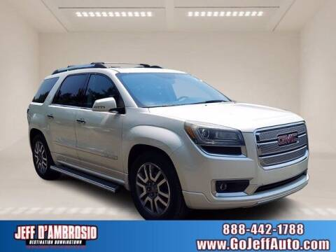 2013 GMC Acadia for sale at Jeff D'Ambrosio Auto Group in Downingtown PA