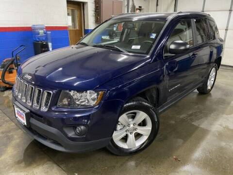 2016 Jeep Compass for sale at Sonias Auto Sales in Worcester MA