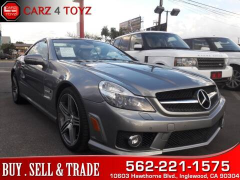 2009 Mercedes-Benz SL-Class for sale at Carz 4 Toyz in Inglewood CA