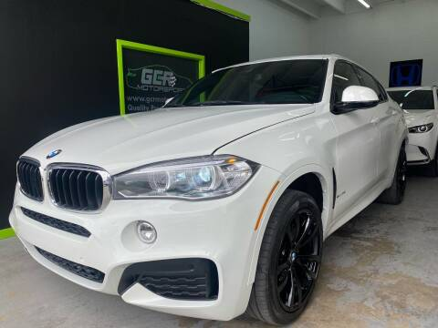 2018 BMW X6 for sale at GCR MOTORSPORTS in Hollywood FL