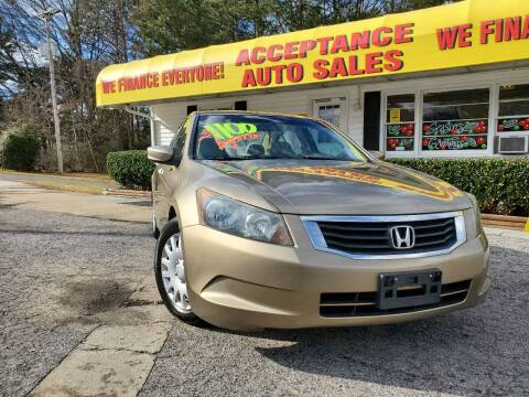 2010 Honda Accord for sale at Acceptance Auto Sales in Marietta GA