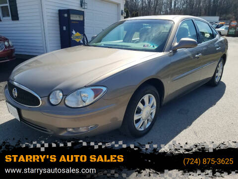 2006 Buick LaCrosse for sale at STARRY'S AUTO SALES in New Alexandria PA