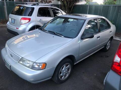 1996 Nissan Sentra for sale at Blue Line Auto Group in Portland OR