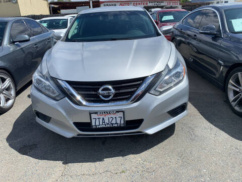 2016 Nissan Altima for sale at GRAND AUTO SALES - CALL or TEXT us at 619-503-3657 in Spring Valley CA