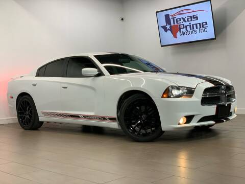 2013 Dodge Charger for sale at Texas Prime Motors in Houston TX