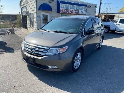 2011 Honda Odyssey for sale at Silver Auto Partners in San Antonio TX
