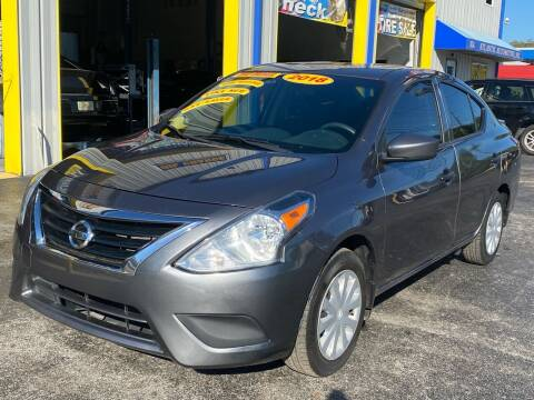 2018 Nissan Versa for sale at RoMicco Cars and Trucks in Tampa FL