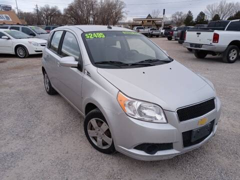 2009 Chevrolet Aveo for sale at Canyon View Auto Sales in Cedar City UT