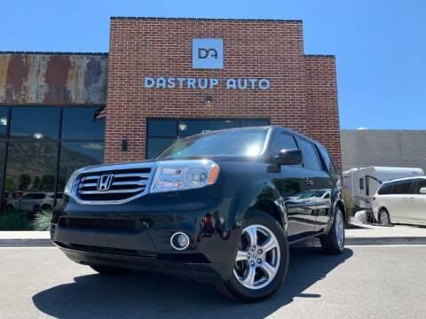 2013 Honda Pilot for sale at Dastrup Auto in Lindon UT