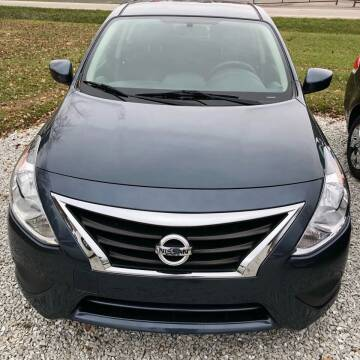 2015 Nissan Versa for sale at Doyle's Auto Sales and Service in North Vernon IN