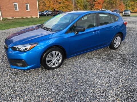 2020 Subaru Impreza for sale at Young's Automotive LLC in Stillwater PA