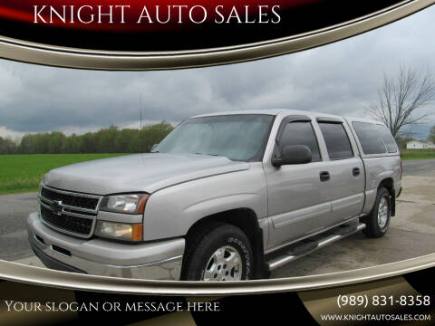 2007 Chevrolet Silverado 1500 Classic for sale at KNIGHT AUTO SALES in Stanton MI