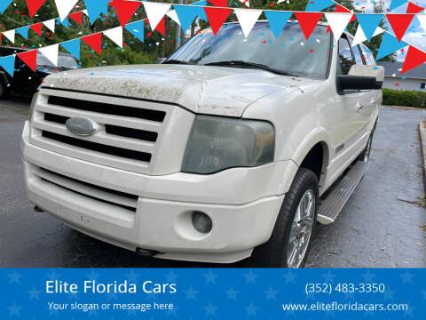 2008 Ford Expedition EL for sale at Elite Florida Cars in Tavares FL