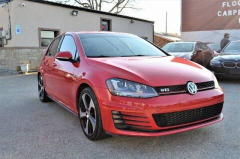 2015 Volkswagen Golf GTI for sale at LAKESIDE MOTORS, INC. in Sachse TX