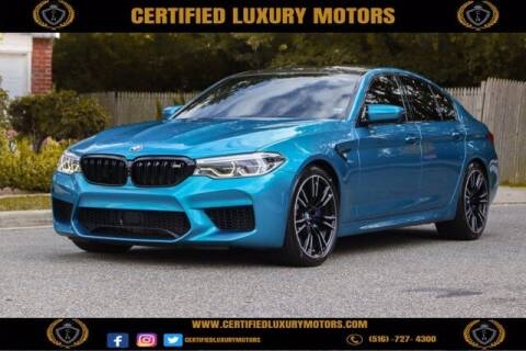 2018 BMW M5 for sale at Certified Luxury Motors in Great Neck NY
