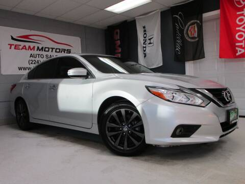 2017 Nissan Altima for sale at TEAM MOTORS LLC in East Dundee IL