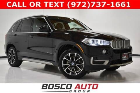 2018 BMW X5 for sale at Bosco Auto Group in Flower Mound TX