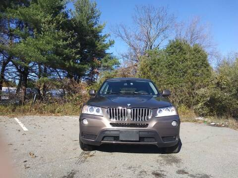 2014 BMW X3 for sale at Westford Auto Sales in Westford MA