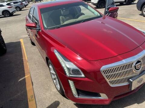 2014 Cadillac CTS for sale at FREDY KIA USED CARS in Houston TX