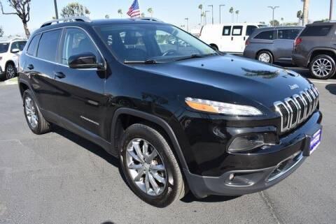 2018 Jeep Cherokee for sale at DIAMOND VALLEY HONDA in Hemet CA