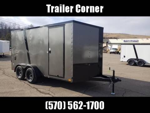 2022 Look Trailers STLC 7X14 EXT HEIGHT - BLK OUT