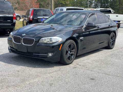2012 BMW 5 Series for sale at Luxury Cars of Atlanta in Snellville GA