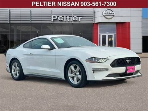 2019 Ford Mustang for sale at TEX TYLER Autos Cars Trucks SUV Sales in Tyler TX