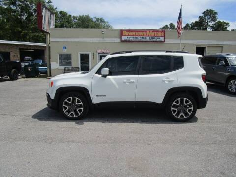 2016 Jeep Renegade for sale at DERIK HARE in Milton FL