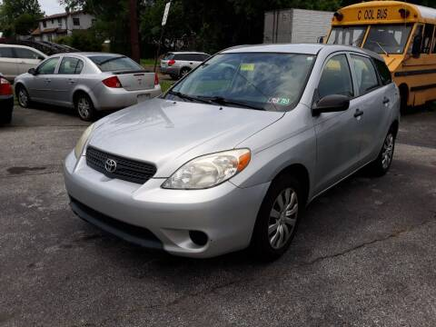 2007 Toyota Matrix for sale at GALANTE AUTO SALES LLC in Aston PA