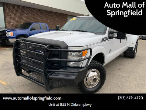 2015 Ford F-350 Super Duty for sale at Auto Mall of Springfield north in Springfield IL