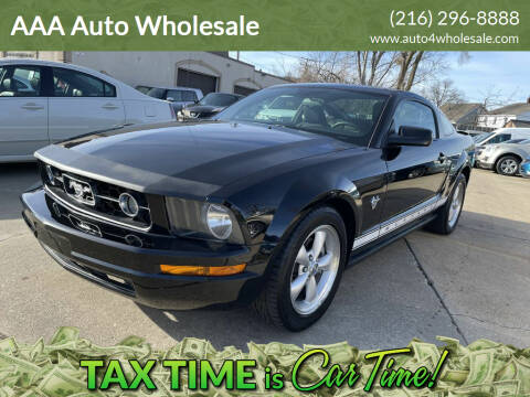 2009 Ford Mustang for sale at AAA Auto Wholesale in Parma OH