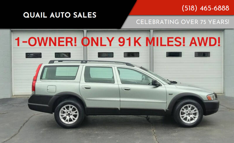 2004 Volvo XC70 for sale at Quail Auto Sales in Albany NY