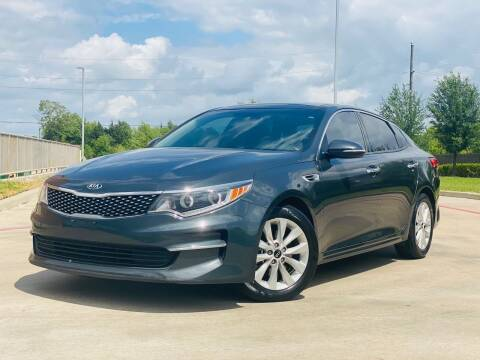 2016 Kia Optima for sale at AUTO DIRECT in Houston TX