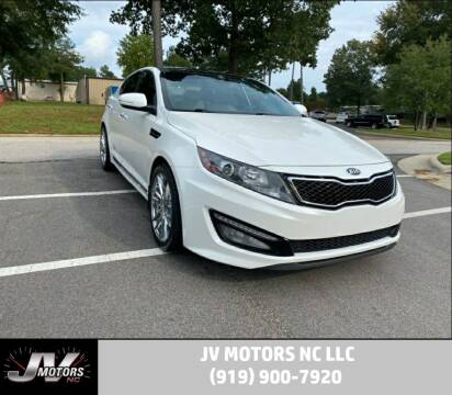 2013 Kia Optima for sale at JV Motors NC LLC in Raleigh NC